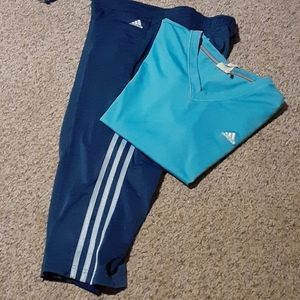 Adidas athletic outfit